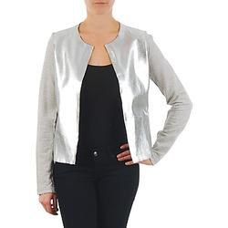Vêtements Femme Vestes / Blazers Majestic 93 Gris / Argent