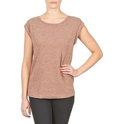 Vêtements Femme T-shirts manches courtes Color Block 3203417 Vieux Rose chiné / Gris