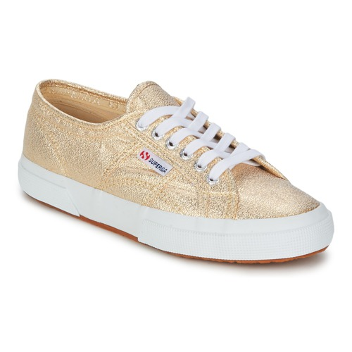 Baskets mode Superga 2751 LAME W Doré 350x350