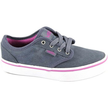 Chaussures Enfant Baskets basses Vans ATWOOD ZUSGL2 obbre chaussures baskets unisexes bl fille tissu Blu