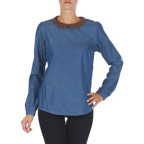 Vêtements Femme Tops / Blouses Tommy Hilfiger DENIM CHRISTY ROSEVILLE Bleu
