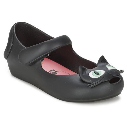 Chaussures Fille Ballerines / babies Melissa ULTRAGIRL II Noir