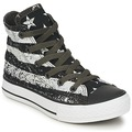 Chaussures Enfant Baskets montantes Converse ALL STAR ROCK STARS & BARS HI Noir / Blanc