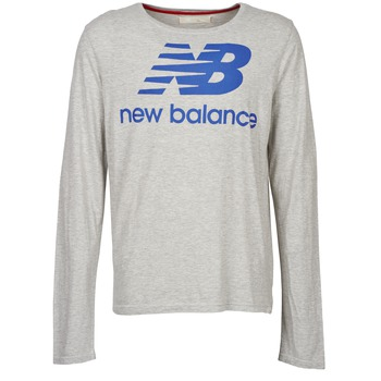 Vêtements Homme T-shirts manches longues New Balance NBSS1403 LONG SLEEVE TEE Gris