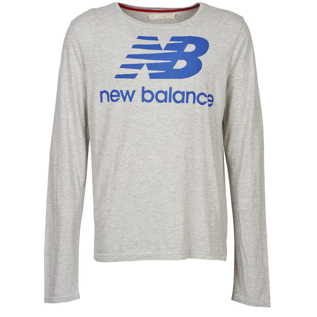 New Balance NBSS1403 LONG SLEEVE TEE Gris