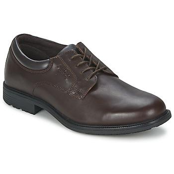 Chaussures Homme Derbies Rockport ESNTIAL DTL WP PLN marron foncé
