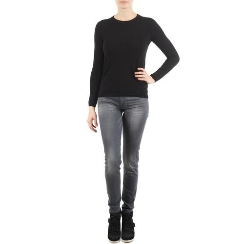 Vêtements Femme Jeans slim 7 for all Mankind THE SKINNY DARK STARS PAVE Gris
