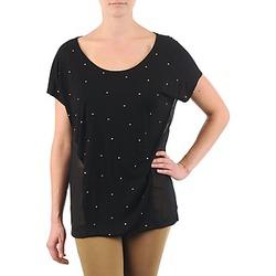 Vêtements Femme T-shirts manches courtes La City MC NOIR Noir