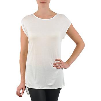 Vêtements Femme T-shirts manches courtes La City TS CROIS D6 Blanc