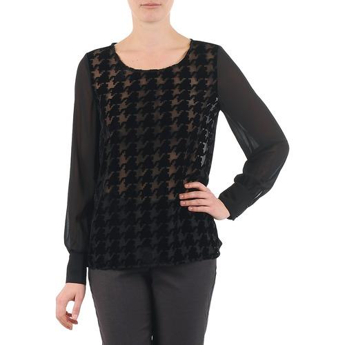 Vêtements Femme Tops / Blouses La City ML FLOCK P Noir