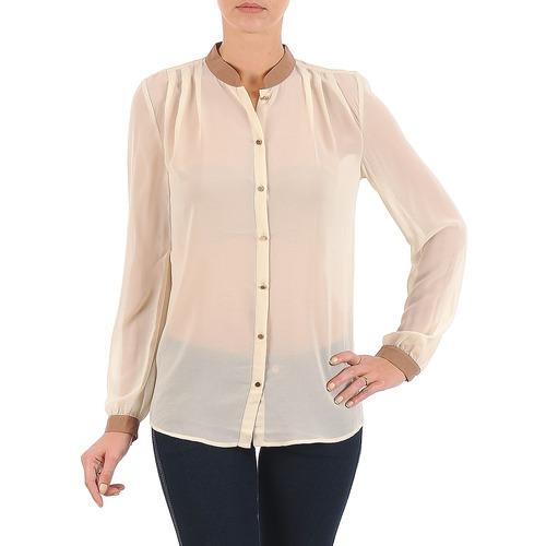 Vêtements Femme Chemises / Chemisiers La City O CHEM LV Ecru