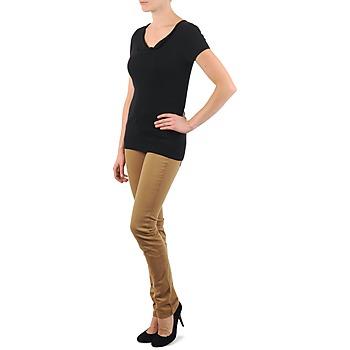 Manches City Beb Femme La Pull Noir shirts Vêtements Courtes Col T thQdCsr