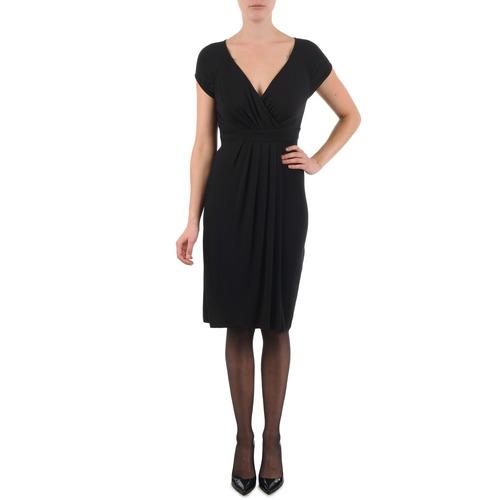 Vêtements Femme Robes courtes La City ROBE3D1B Noir