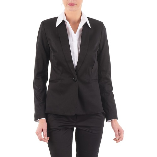 Vêtements Femme Vestes / Blazers La City VBASIC Noir