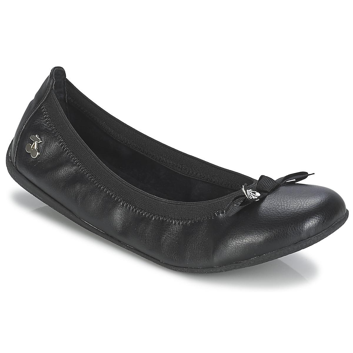 le temps des cerises lilou noir livraison gratuite avec chaussures ballerines. Black Bedroom Furniture Sets. Home Design Ideas