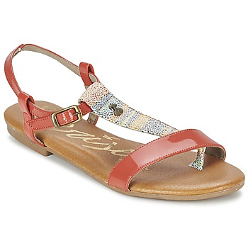 Chaussures Femme Sandales et Nu-pieds Le Temps des Cerises CARLY CORAIL Corail