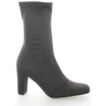 Chaussures Femme Boots Elizabeth Stuart Boots cuir velours Gris