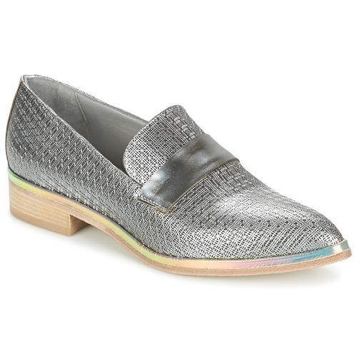 Chaussures Femme Derbies Now METUZI Argent