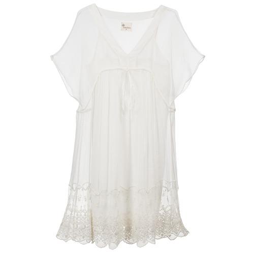 Vêtements Femme Robes courtes Stella Forest ARO035 Ecru