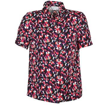 Chemises American Retro NEOSHIRT Noir / Rose / Orange 350x350