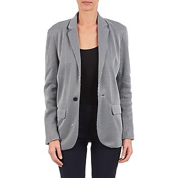 VestesBlazers American Retro Jackylo Blanc Noir Vêtements Femme Pw80OknX