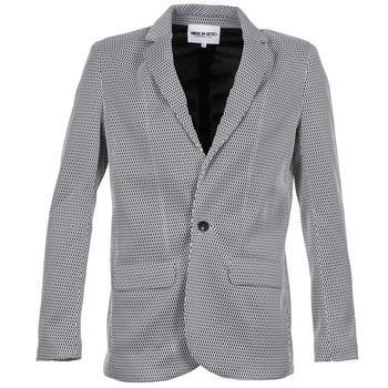 Vestes American Retro JACKYLO Blanc / Noir 350x350