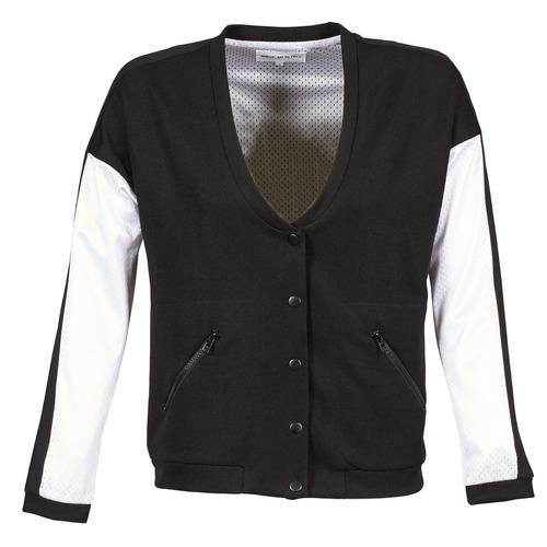 Vêtements Femme Blousons American Retro CHARONNE Noir / Blanc