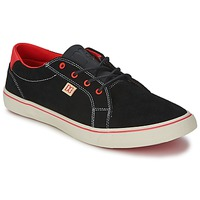 Chaussures Femme Baskets basses DC Shoes COUNCIL W Noir / Rouge