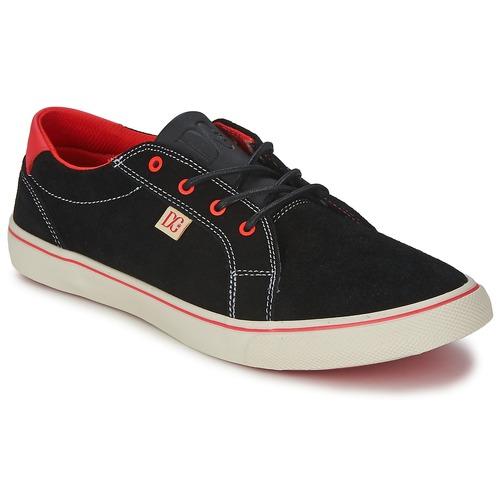 Chaussures Femme Baskets basses DC Shoes COUNCIL W Noir / Rouge