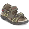Chaussures Garçon Sandales sport Geox S.STRADA A Marron / Ocre