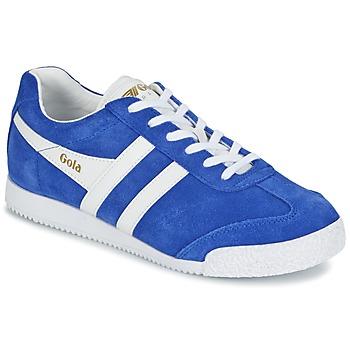 Baskets mode Gola HARRIER Bleu / Blanc 350x350