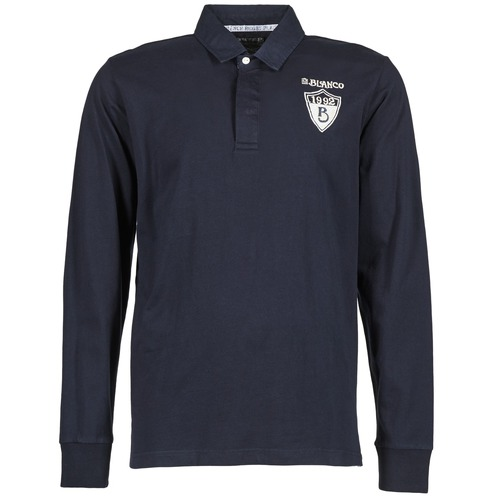 Vêtements Homme Polos manches longues Serge Blanco RUGBY LEAGUE Marine