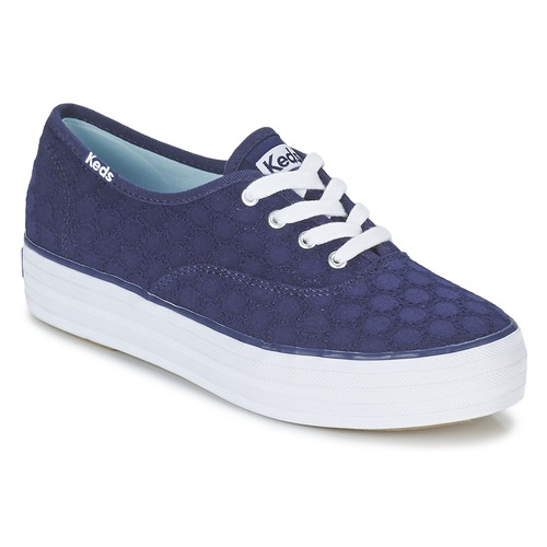 Baskets mode Keds TRIPLE EYELET Marine 350x350