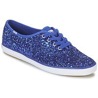 Chaussures Femme Baskets basses Keds CHAMPION GLITTER Bleu