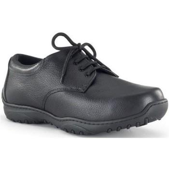 Chaussures Homme Richelieu Calzamedi largeur orthopédique 20 BLACK