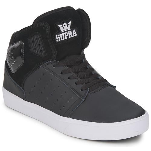 Chaussures Homme Baskets montantes Supra ATOM Noir / Blanc