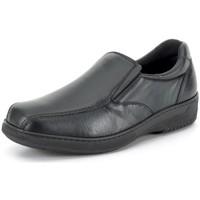 Chaussures Homme Mocassins Calzamedi Moccasin  confortable pour modèles BLACK