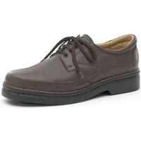 Chaussures Homme Derbies Calzamedi semelles de chaussures casual BRUN