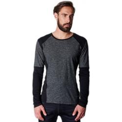 Vêtements Homme T-shirts manches longues Japan Rags T-Shirt manches longues  Bolton Charcoal Gris