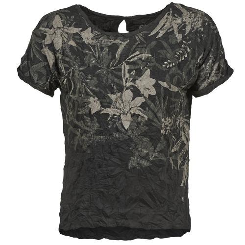 Vêtements Femme T-shirts manches courtes Oxbow NIANA Noir