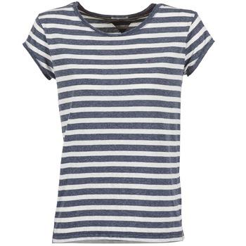 T-shirts & Polos Hilfiger Denim AMELIE Marine / Blanc 350x350
