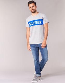 Vêtements Homme Jeans slim Hilfiger Denim SLIM SCANTON MIDC Bleu medium