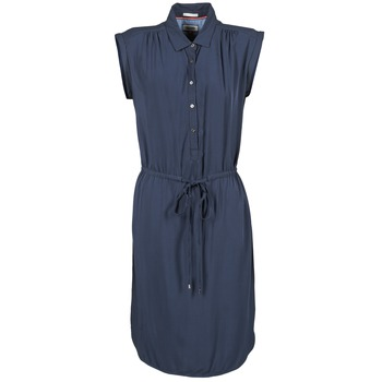 Vêtements Femme Robes courtes Hilfiger Denim BASIC SHIRT DRESS Marine