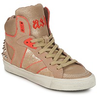 Chaussures Femme Baskets montantes Ash SPIRIT beige/or/orange