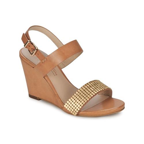 Chaussures Femme Sandales et Nu-pieds JB Martin 1OLE Camel / Or