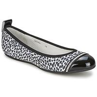 Chaussures Femme Ballerines / babies Bikkembergs BASAR 910 Noir / Blanc