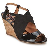 Chaussures Femme Sandales et Nu-pieds Chocolate Schubar ELVINA Noir