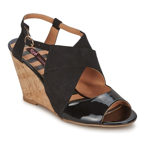 Sandale Chocolate Schubar ELVINA Noir 350x350