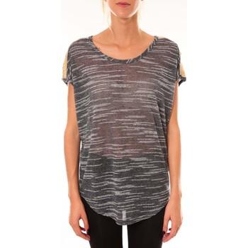 Vêtements Femme Tops / Blouses Dress Code Top à sequins R5523 marine Bleu