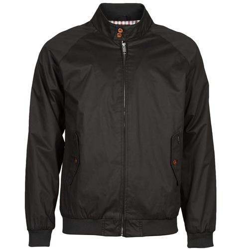 Vestes Ben Sherman COTTON HARRINGTON Noir 350x350